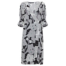 Buy Mint Velvet Cassie Print Wrap Dress, Multi Online at johnlewis.com