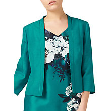Buy Jacques Vert Petite Shantung Jacket, Bright Green Online at johnlewis.com
