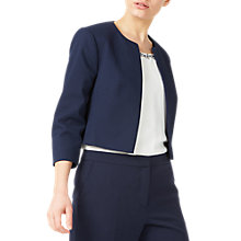 Buy Jacques Vert Petite Bolero, Navy Online at johnlewis.com
