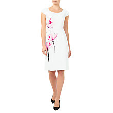 Buy Jacques Vert Blossom Shift Dress, Pink/Multi Online at johnlewis.com