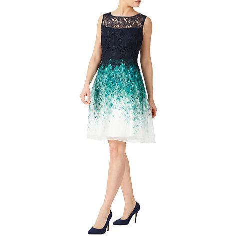 Womens Petite Lace Waterfall Dress Jacques Vert nUVdITsF