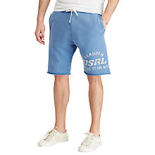 Buy Denim & Supply Ralph Lauren Cotton French Terry Cutoff Sweat Shorts Online at johnlewis.com