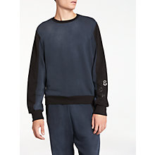Buy Diesel S-Acrom Sweatshirt, Blue/Black Online at johnlewis.com