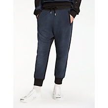 Buy Diesel P-Adam Jersey Jogging Bottoms, Black Online at johnlewis.com