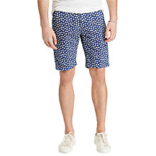 Buy Denim & Supply Ralph Lauren Floral Print Chino Shorts, Caswell Blue Online at johnlewis.com