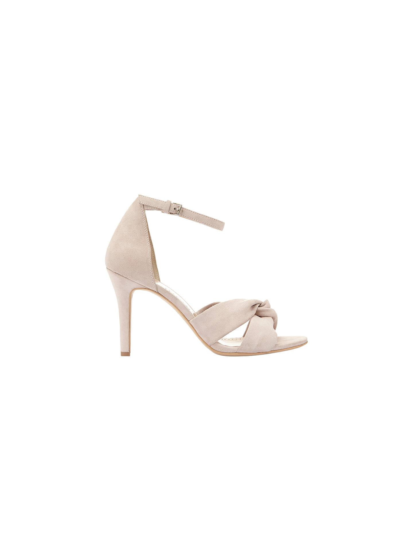 5d5f9b6afa4 Buy Mint Velvet Merty Suede Open Toe Court Shoes, Light Pink, 3 Online at  ...