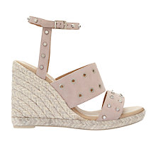 Buy Mint Velvet Steph Wedge Heeled Sandals Online at johnlewis.com