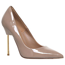 Buy Kurt Geiger Britton Court Shoes, Nude Online at johnlewis.com