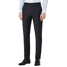 Buy Reiss Thrill Wool Check Slim Fit Suit Trousers, Navy Online at johnlewis.com