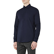 Buy Reiss Mauro Concealed Placket Shirt Online at johnlewis.com