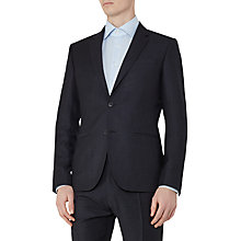 Buy Reiss Thrill Wool Check Slim Fit Suit Jacket, Navy Online at johnlewis.com