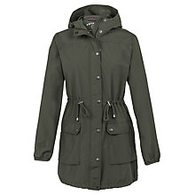 Buy Fat Face Pac A Parka, Khaki Online at johnlewis.com