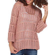 Buy Fat Face Cara Crochet Jumper Online at johnlewis.com