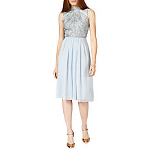 Buy Phase Eight Collection 8 Elfreda Dress, Mineral Blue Online at johnlewis.com