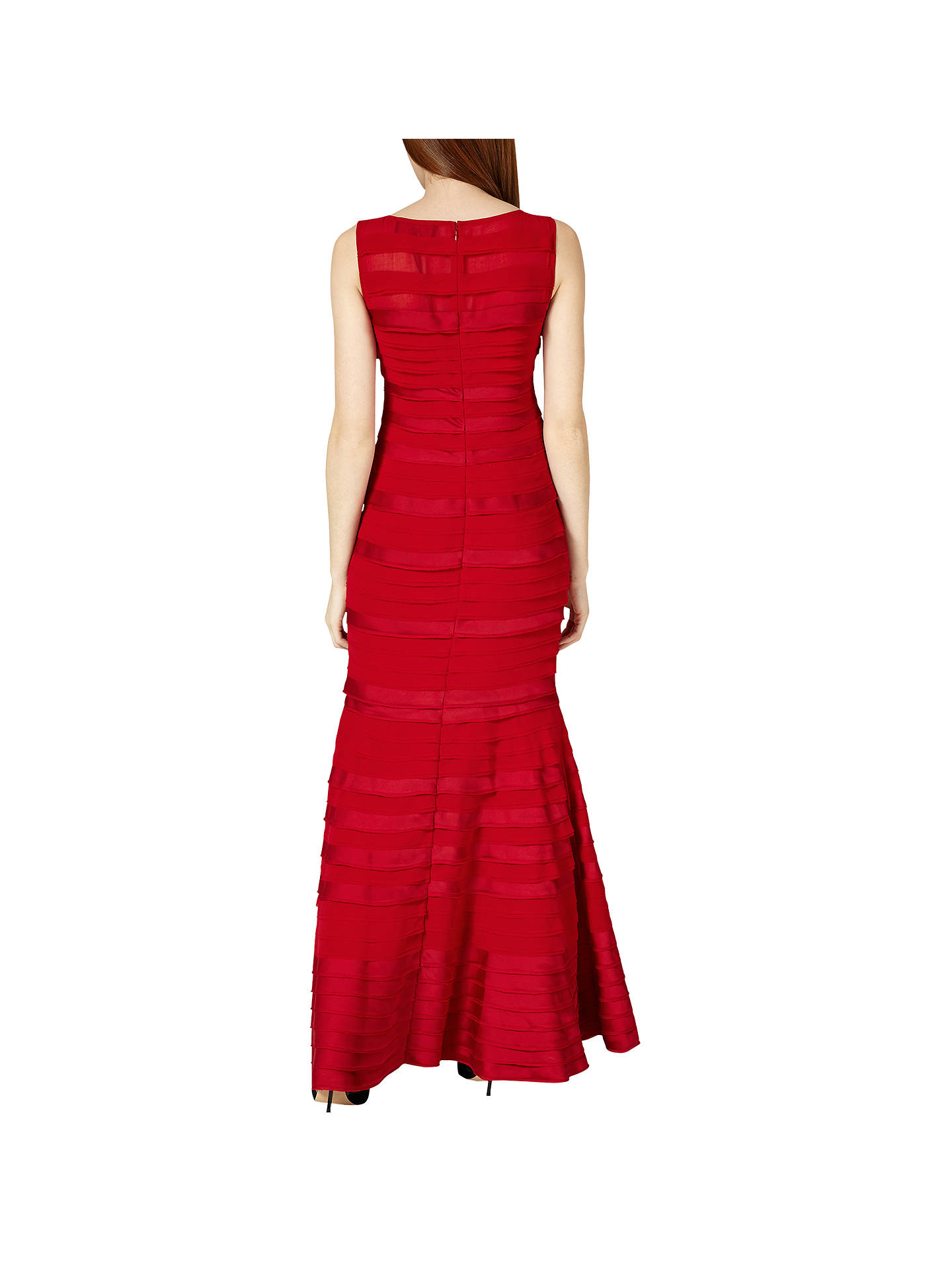 BuyPhase Eight Collection 8 Shannon Layered Dress, Rouge, 6 Online at johnlewis.com