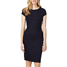 Buy Phase Eight Magda Colour Block Dress, Indigo/Black Online at johnlewis.com