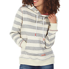 Buy Fat Face Surf's Up Stripe Hoodie, Ivory/Multi Online at johnlewis.com