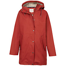 Buy Fat Face Melrose Mac, Claret Online at johnlewis.com