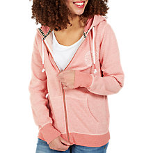 Buy Fat Face South Coast Zip Hoodie, Rosebud Online at johnlewis.com