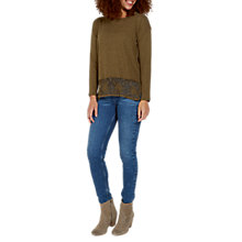 Buy Fat Face Carrie Crochet Jumper Online at johnlewis.com