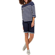 Buy Fat Face Breton Stripe Jumper Online at johnlewis.com