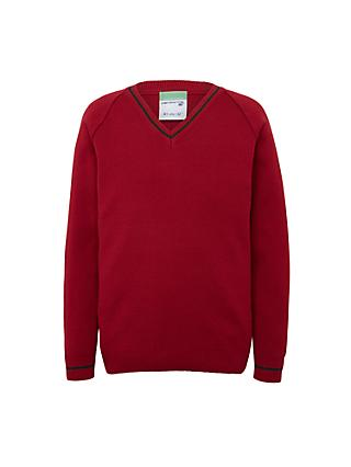 Redmaids High School Pullover, Red