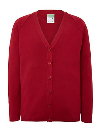 Redmaids High School Cardigan, Red