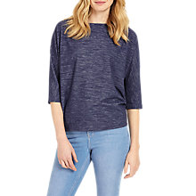 Buy Phase Eight Delphine Top, Denim Online at johnlewis.com