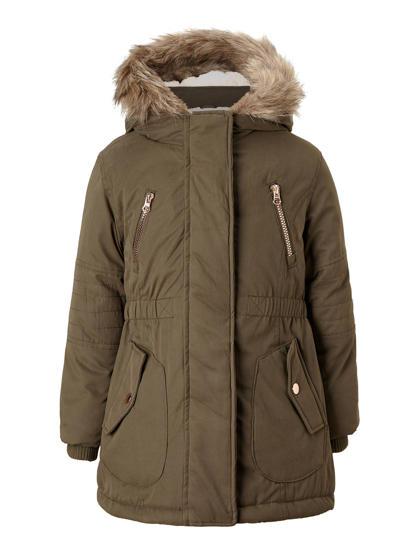 skilful manufacture excellent quality enjoy complimentary shipping John Lewis Girls' Parka Coat at John Lewis & Partners