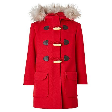 Buy John Lewis Girls' Duffle Coat | John Lewis
