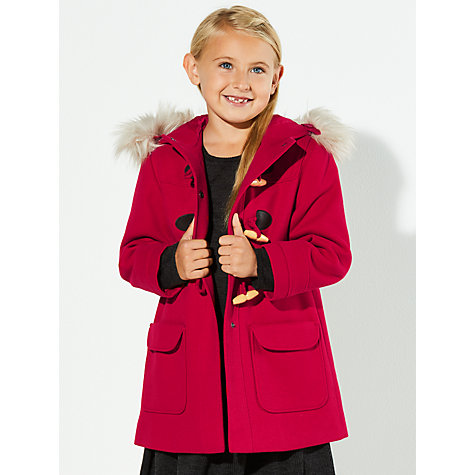 Buy John Lewis Girls' Duffle Coat | John Lewis
