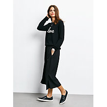 Buy hush Love Jumper, Black/Ecru Online at johnlewis.com