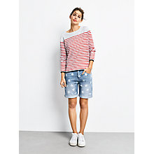 Buy hush Tipped Stripe Jumper Online at johnlewis.com