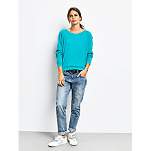 Buy hush Raw Long Sleeve Raglan T-Shirt, Columbia Online at johnlewis.com