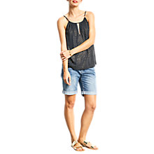 Buy hush Kent Top, Salute/Gold Online at johnlewis.com