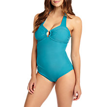 Buy Phase Eight Vanessa Swimsuit, Turquoise Online at johnlewis.com
