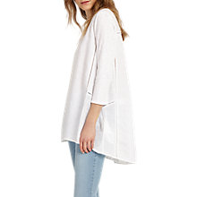 Buy Phase Eight Gia Blouse, White Online at johnlewis.com