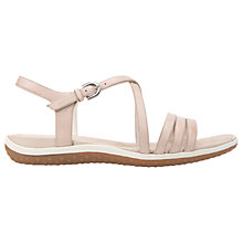 Buy Geox Vega C Sandals, Skin Online at johnlewis.com