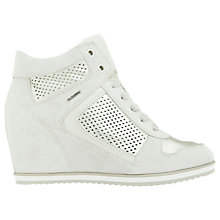 Buy Geox Illusion Hidden Wedge Trainers Online at johnlewis.com