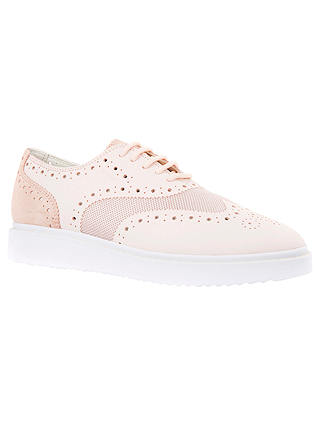 Buy Geox Thymar Lace Up Trainers, Light Pink, 4 Online at johnlewis.com