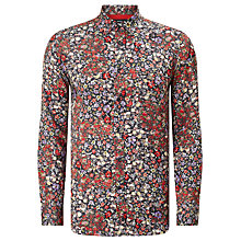 Buy Diesel S-Nico Floral Shirt, Black Online at johnlewis.com