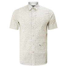 Buy Diesel S-Dove Micro Star Short Sleeve Shirt, Bright White Online at johnlewis.com
