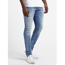 Buy Diesel Tepphar 084GI Slim Jeans, Light Blue Online at johnlewis.com
