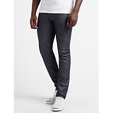 Buy Diesel Thommer Skinny Fit Stretch Jeans, Dark Blue 084HN Online at johnlewis.com