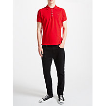 Buy Diesel T-Heal Polo Shirt, Tango Red Online at johnlewis.com