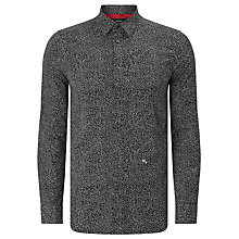 Buy Diesel S-Dino Micro Star Shirt, Black Online at johnlewis.com