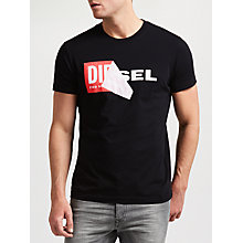 Buy Diesel T-Diego QA T-Shirt Online at johnlewis.com