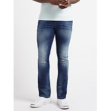 Buy Diesel Thommer Skinny Fit Stretch Jeans, True Blue 084GR Online at johnlewis.com