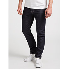 Buy Diesel Larkee-Beex Regular Straight Dark Denim Jeans, Rinse Online at johnlewis.com