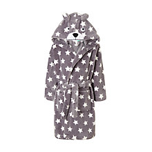 Buy John Lewis Children's Star Bear Robe, Brown Online at johnlewis.com